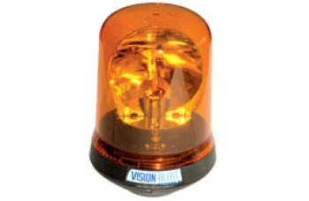 Amber Rotating Beacon