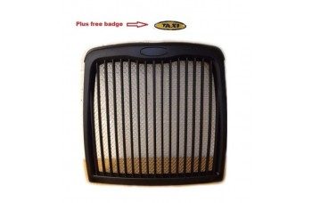 TX4 TAXI GRILLE BLACK with SILVER MESH