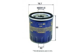 OIL FILTER PEUGEOT EXPERT E7 00-07