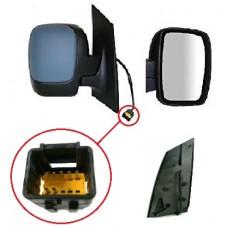 PEUGEOT EXPERT E7 DOOR/MIRROR RH 07- HEATED ELECTRIC ADJUST - COLOUR PRIMER