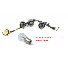 TAXI REAR LAMP WIRING LOOM TX1 TX2 TX4 for clear indicator bulb